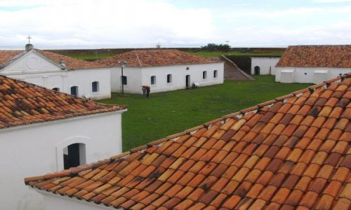 BRAZYLIA / Macapa / Fort / Mżawka