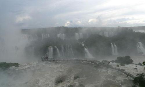 Zdjecie BRAZYLIA / - / Foz / wodospady Iguacu