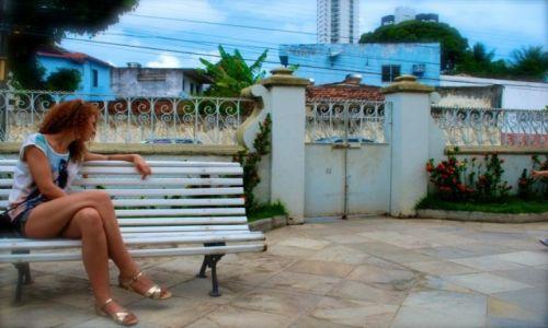 Zdjecie BRAZYLIA / Pernambuco / Recife / Somewhere in the garden....