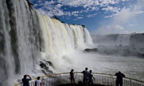 Zdjecie BRAZYLIA / Iguasu / Iguasu / wodospad