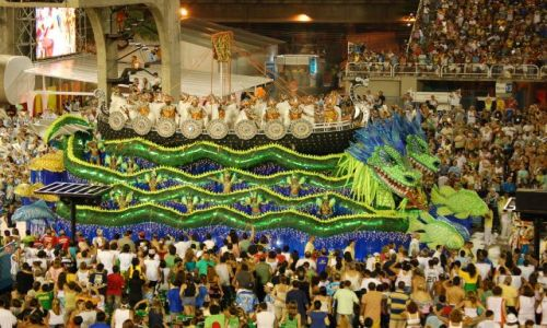 Zdjecie BRAZYLIA / brak / Rio de Janeiro / Sambodrom-platforma 11