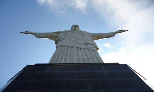 BRAZYLIA / Rio de Janeiro / Rio de Janeiro / Corcovado typowo ...