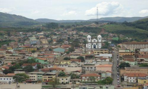 Zdjęcie BRAZYLIA / Minas Gerais / Congonhas / Panorama miasteczka