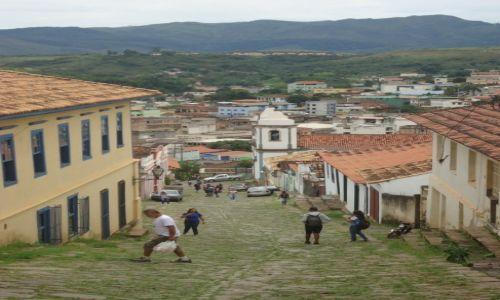 Zdjecie BRAZYLIA / Minas Gerais / Congonhas / Uliczki Congonhas