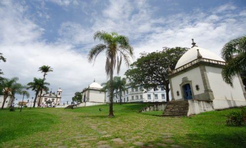 Zdjecie BRAZYLIA / Minas Gerais / Congonhas / Widok ogólny sanktuarium