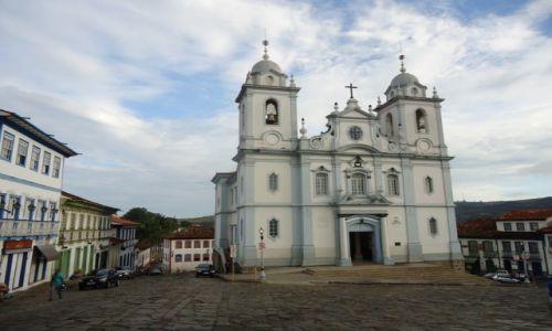 Zdjecie BRAZYLIA / Minas Gerais / Diamantina / Diamantina w dzień