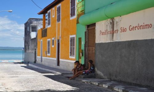 Zdjecie BRAZYLIA / - / Itaparica / ulica