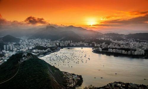 Zdjecie BRAZYLIA / RIO DE JANEIRO / Zatoka / taki mały kicz :)