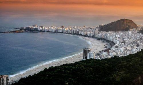 BRAZYLIA / RIO DE JANEIRO / Copacabana / Na Copa fajnie jest !