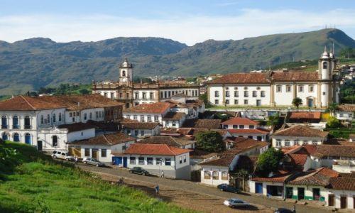 Zdjęcie BRAZYLIA / Minas Gerais / Ouro Preto / Panorama miasta