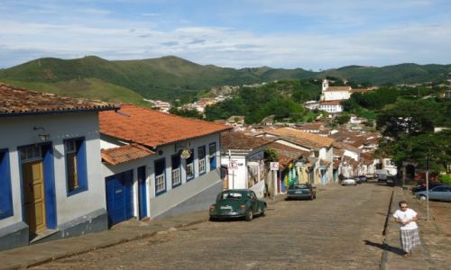 Zdjęcie BRAZYLIA / Minas Gerais / Ouro Preto / Uliczki Ouro Preto
