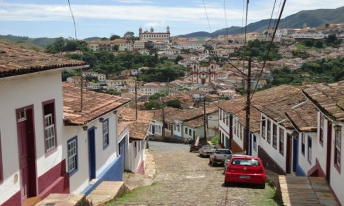 Zdjęcie BRAZYLIA / Minas Gerais / Ouro Preto / Uliczki Ouro Preto (3)