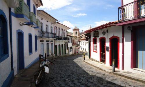 BRAZYLIA / Minas Gerais / Ouro Preto / Uliczki Ouro Preto (5)