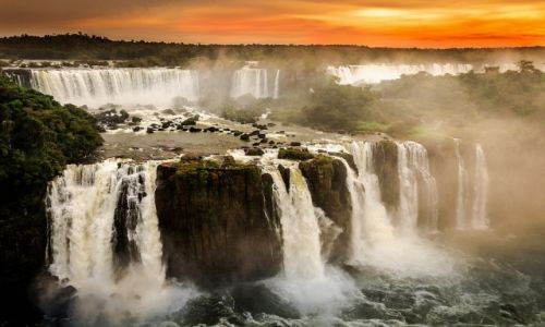 Zdjęcie BRAZYLIA / Cataratas del Iguazu / Iguazu / ZNOWU ZACHÓD