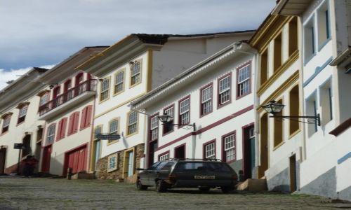 Zdjęcie BRAZYLIA / Minas Gerais / Ouro Preto / Impresja