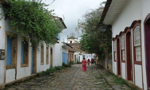 BRAZYLIA / Rio de Janeiro / Paraty / Uliczki Paraty