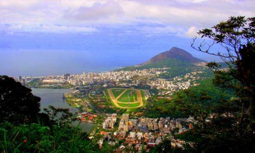 Zdjecie BRAZYLIA / Rio de Janeiro / Widok ze Wzgorza Chrystusa / Bajeczne Rio