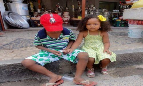 Zdjecie BRAZYLIA / Nad Zatoka Wszystkich Swietych / Salvador da Bahia / Mała miss