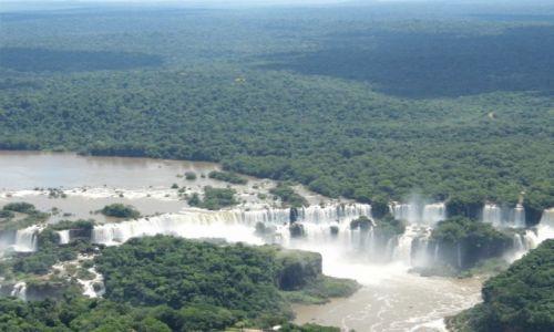 Zdjęcie BRAZYLIA / Parana / Iguazu / Spadajaca Woda :)