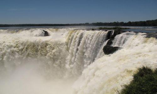 Zdjęcie BRAZYLIA / Iguasu / Iguasu / Gardziel diabła