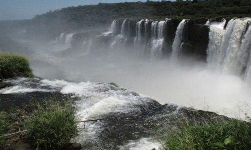 Zdjęcie BRAZYLIA / Iguasu / Iguasu / Kaskady wody