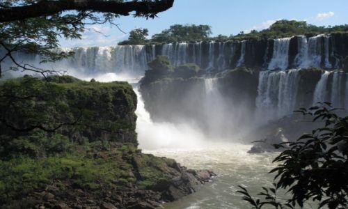 Zdjęcie BRAZYLIA / Iguasu / Iguasu / Uroki wodospadów