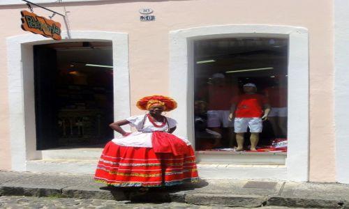 Zdjecie BRAZYLIA / Zatoka Wszystkich Sw. wch. czesc kraju / Salvador da Bahia / W sloncu i w kolorze