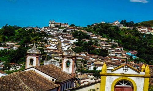 Zdjęcie BRAZYLIA / ouro preto / ouro preto / w niedziele