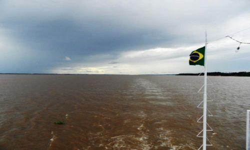Zdjęcie BRAZYLIA / Amazonka / Amazonka / Bandera