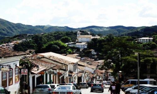 Zdjęcie BRAZYLIA / ouro preto / ouro preto / miasto kosciolow