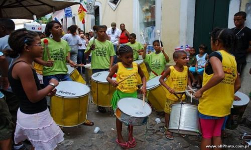 Zdjęcie BRAZYLIA / Bahia / Salvador / Bahia Independence Day celebration