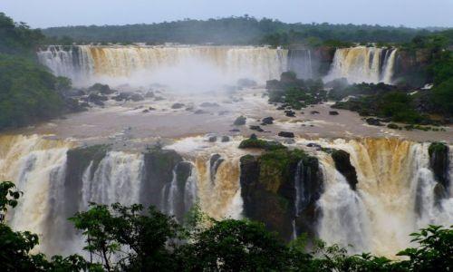 Zdjęcie BRAZYLIA / okolize Foz de Iguazu / Park Narodowy Iguazu / wodospady Iguazu