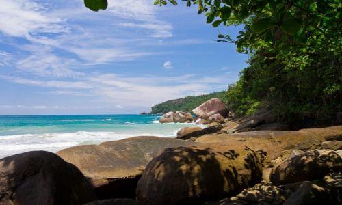 Zdjęcie BRAZYLIA / Costa Verde / park narodowy Serra da Bocaina / Rajski widok