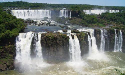 BRAZYLIA / Wodospady Iguazu / jw / Wodospady 1