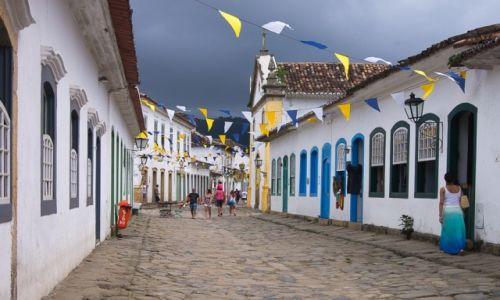 BRAZYLIA / Rio de Janeiro / Paraty / Uliczka