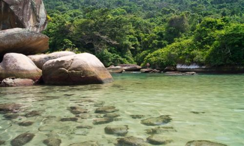 Zdjęcie BRAZYLIA / Costa Verde / NP Serra da Bocaina / Natural piscina