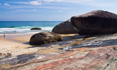 Zdjęcie BRAZYLIA / Costa Verde / NP Serra da Bocaina / Kamienie