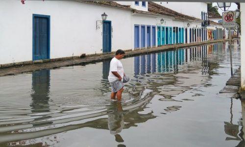 Zdjęcie BRAZYLIA / Costa Verde / Paraty / Trochę popadało