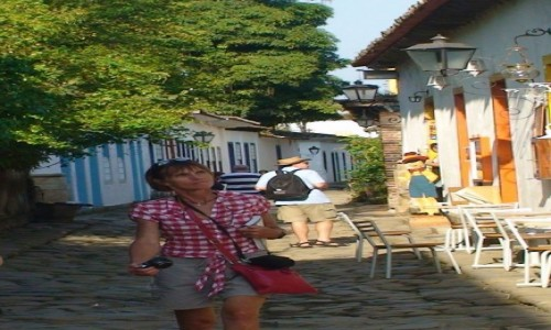 Zdjecie BRAZYLIA / Paraty / Paraty Centrum Historii / Turysta