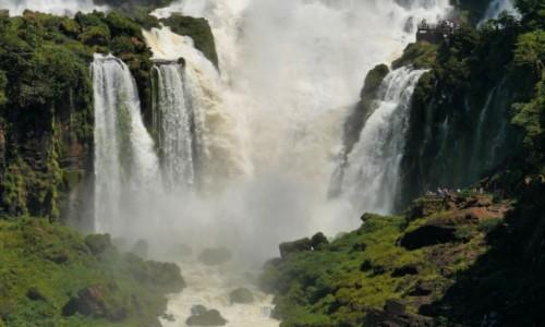 Zdjęcie BRAZYLIA / Iguacu / Iguacu / WODOSPAD IGUACU