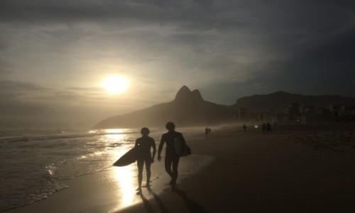 Zdjecie BRAZYLIA / Rio de Janeiro / Ipanema / Ipanema Beach