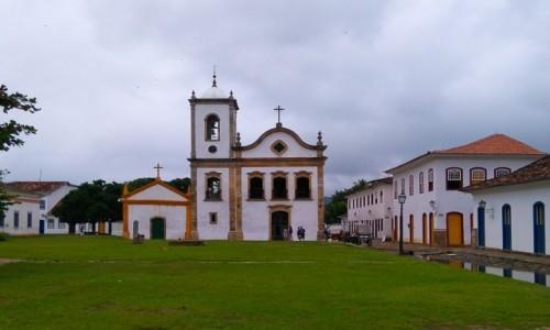 Zdjecie BRAZYLIA / Costa Verde / Paraty / KOściól Santa Rita