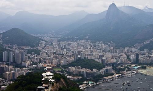 Zdjęcie BRAZYLIA / Rio de Janeiro / / / Wju na Rio