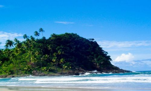 Zdjecie BRAZYLIA / Bahia / Itacare / Plaża w Itacare