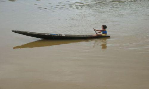 Zdjęcie BRAZYLIA / Amazonka / gdzieś w okolicy Santarem / Życie Amazonki