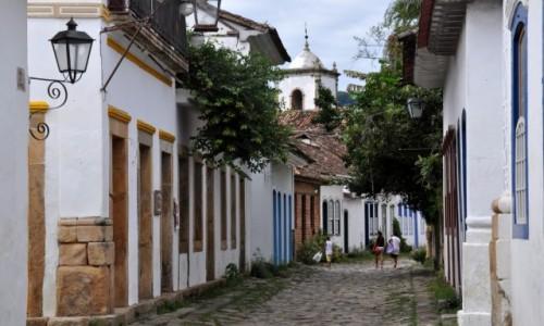 Zdjecie BRAZYLIA / Stan Rio De Janeiro / Parati / Uliczka