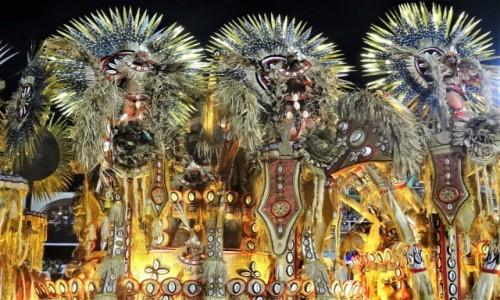 BRAZYLIA / Rio de Janeiro / Sambodrom / Karnawał 2018