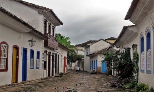 Zdjęcie BRAZYLIA / Wybrzeże, Stan Rio de Janeiro / Stare Miasto Paraty / Niezwykłe PARATY