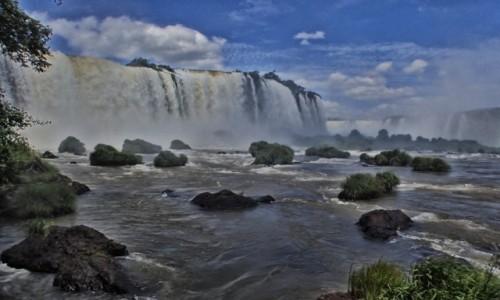 BRAZYLIA / Parana / Foz de Iquazu / Wodospady Iquazu