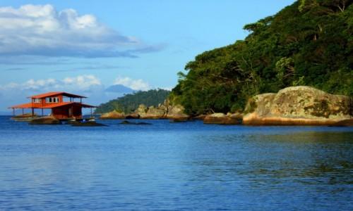 Zdjecie BRAZYLIA / RJ / Ilha Grande / Domek na wodzie